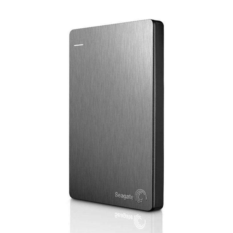 Seagate Hardisk Eksternal Backup Plus Slim 2TB Silver