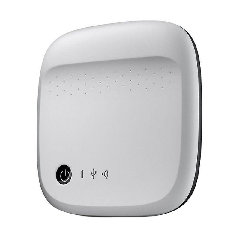 Seagate Wireless Silver Harddisk Eksternal [500 GB]