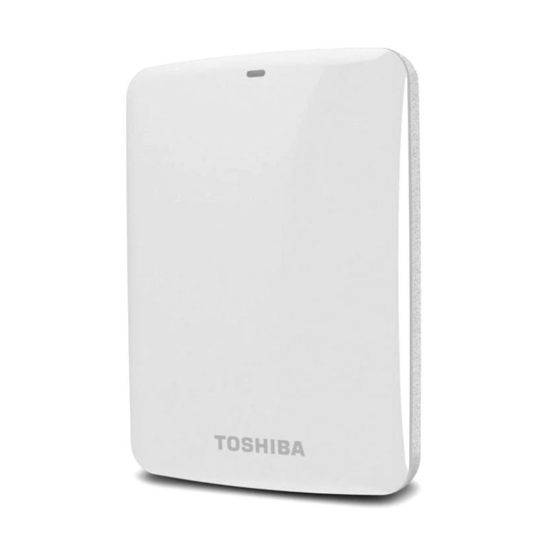 Toshiba Hardisk Eksternal Canvio Connect 1TB White
