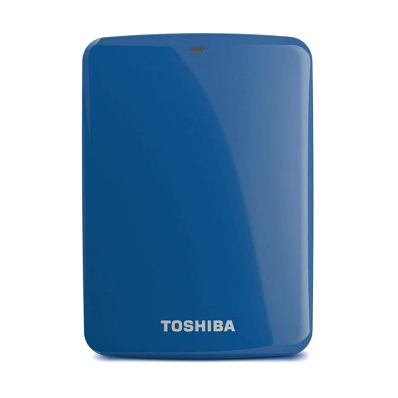 Toshiba Hardisk Eksternal Canvio Connect 2TB Blue