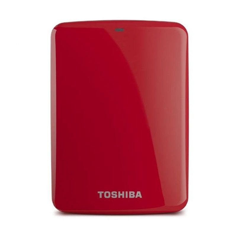 Toshiba Hardisk Eksternal Canvio Connect 500GB Red
