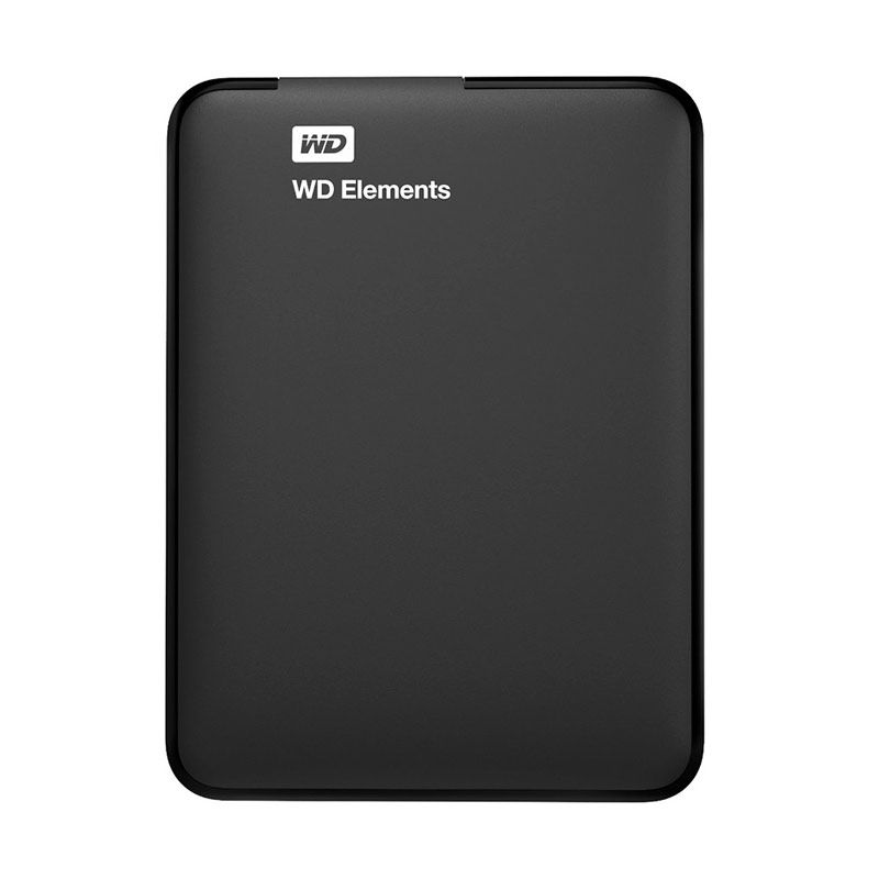 WD Hardisk Eksternal Elements 2.5 inch USB 3.0 500GB Black