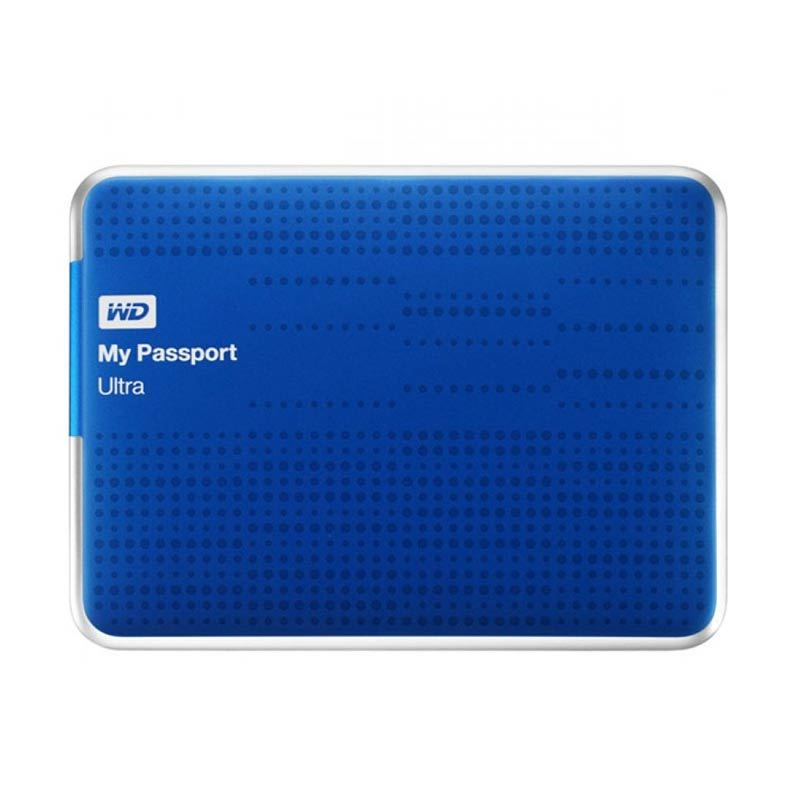 WD Hardisk Eksternal My Passport Ultra USB 3.0 2TB Blue