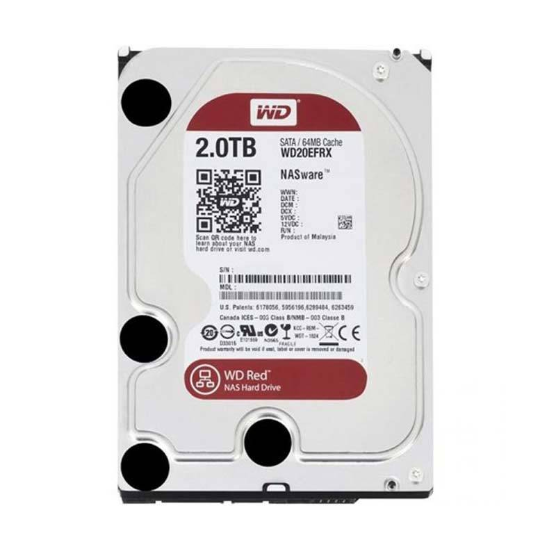 WD Hardisk Internal Caviar Red 3.5 inch 2TB Red