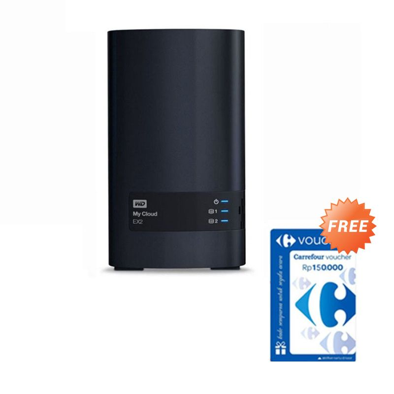 WD My Cloud EX2 NAS [6 TB] + Voucher