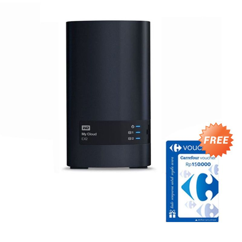 WD My Cloud EX2 NAS [8 TB] + Voucher