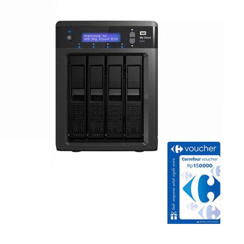 WD My Cloud EX4 NAS [12 TB] + Voucher