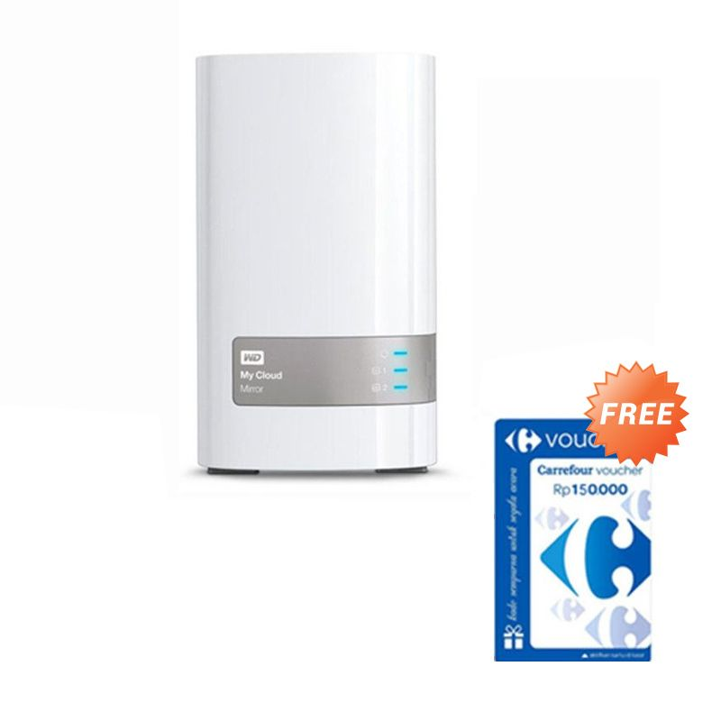 WD My Cloud Mirror NAS [8 TB] + Voucher