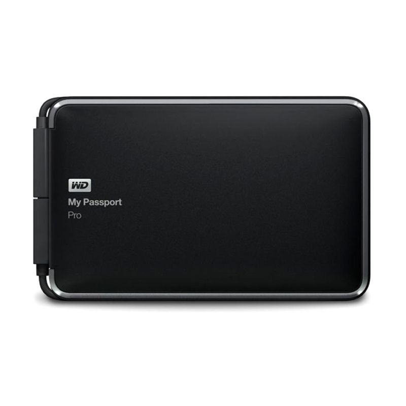 WD My Passport Pro 2 TB Black Hard Disk Eksternal