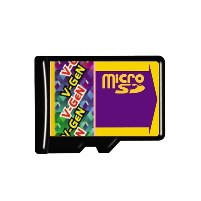 V-GeN Micro SD Memory Card [2 GB/Adapter]