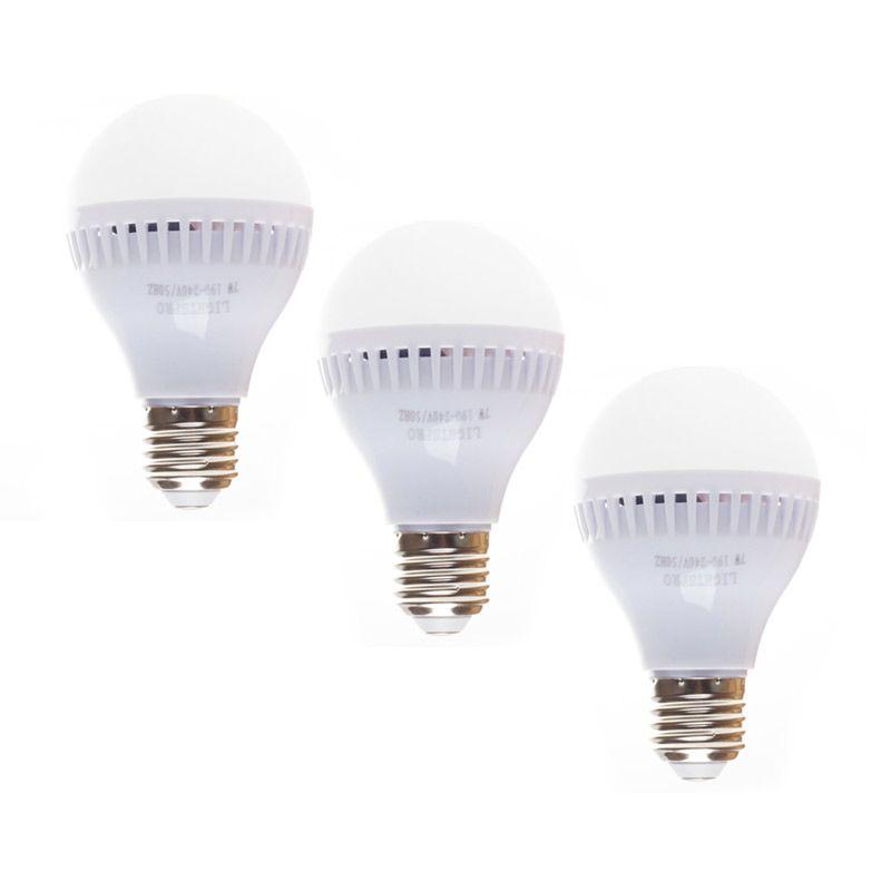 Lightsprp Lampu LED 7watt Bundle 3 pcs