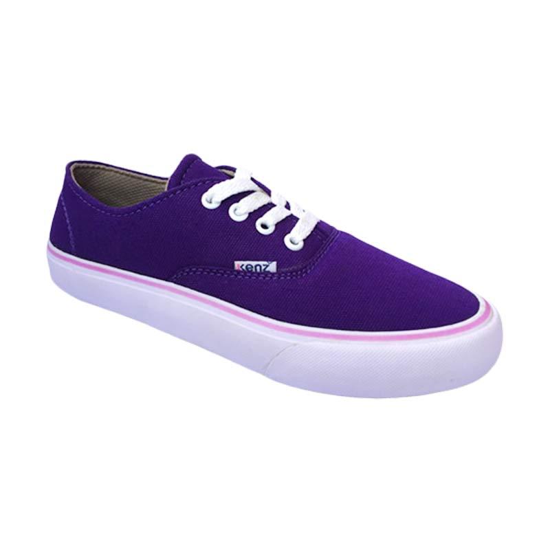 Harga Kenz Classic Girl Sepatu Wanita - Purple - PriceNia.com db0ebaf520