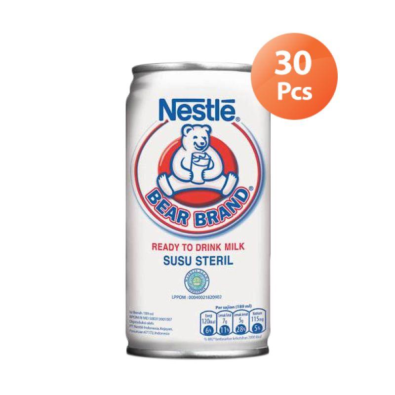 NESTLE Bear Brand Minuman Susu [30 Pcs]