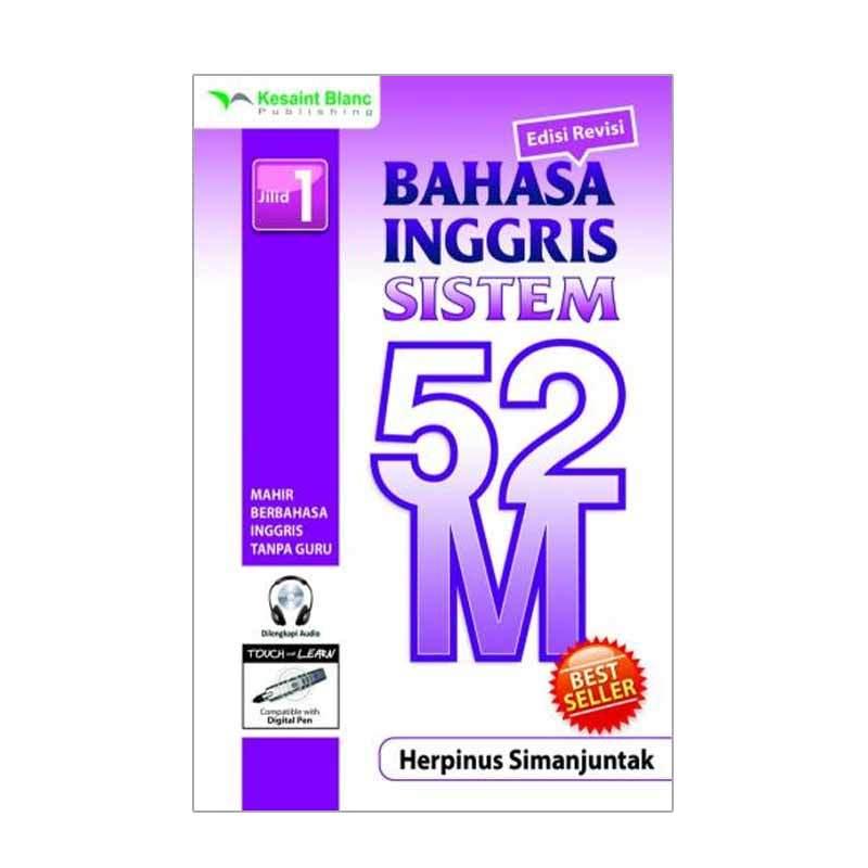Kesaint Blanc Bahasa Inggris Sistem 52 M Jilid 1 (+ CD Audio)