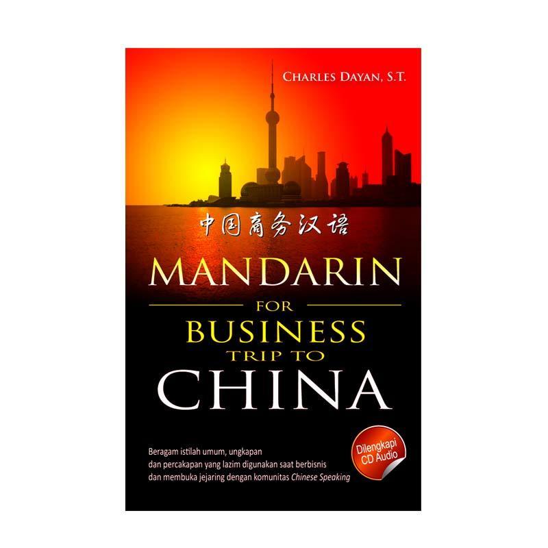 Kesaint Blanc Mandarin For Business Trip to China + CD Audio