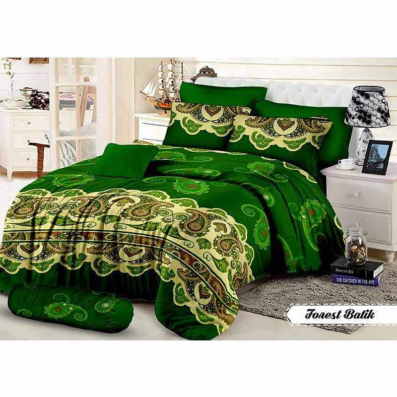 Khawla Disperse Forest Batik Set Sprei