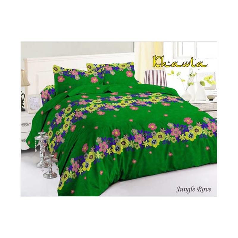 Khawla Disperse Jungle Rove Set Sprei dan Bed Cover