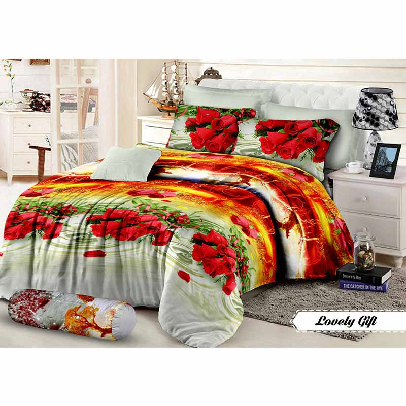 Khawla Disperse  Lovely Gift Set Sprei