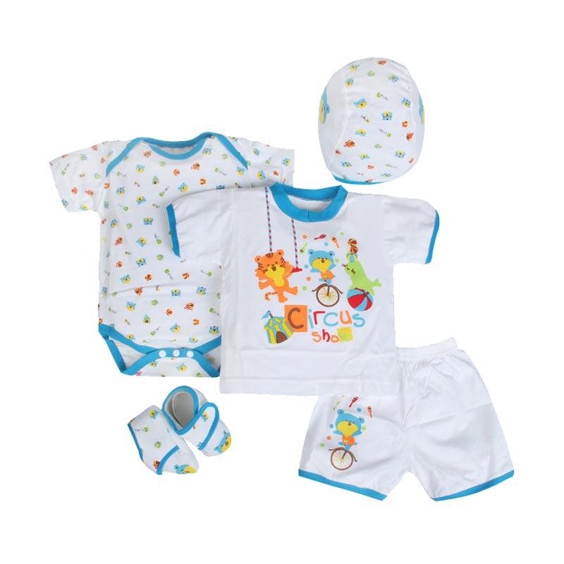 Kiddy Circus Baby Gift Set - Biru