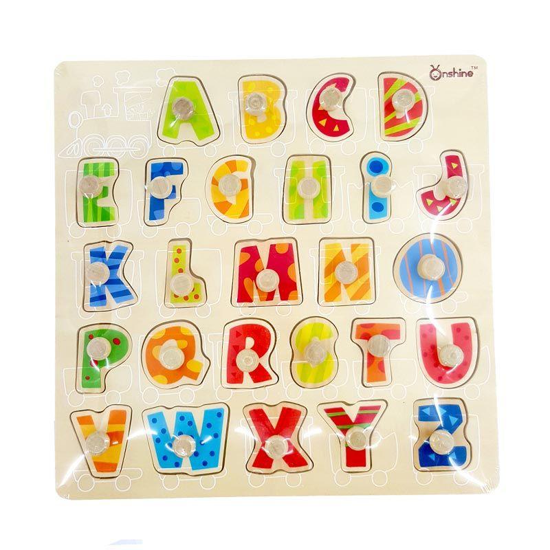 Kids Aptitude Alphabet Puzzle Mainan Anak