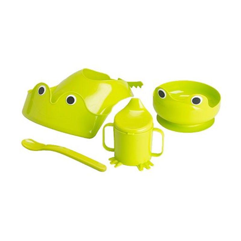 harga Ikea Mata in One Hijau Set Peralatan Makan Blibli.com