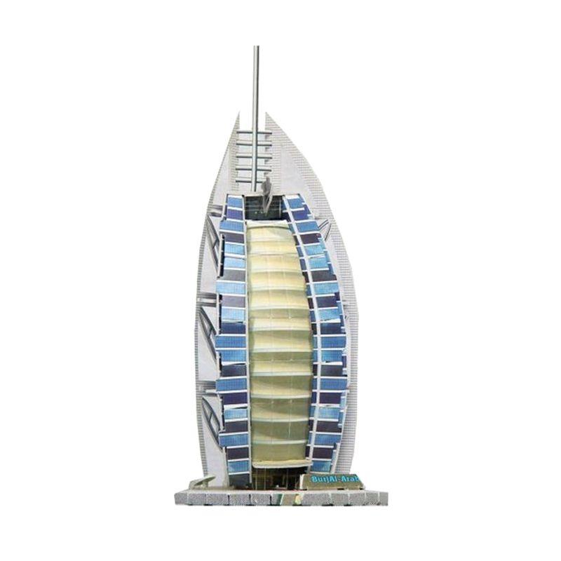 monkizz Puzzle 3D Dubai Yacht Hotel Mainan dan Hiasan