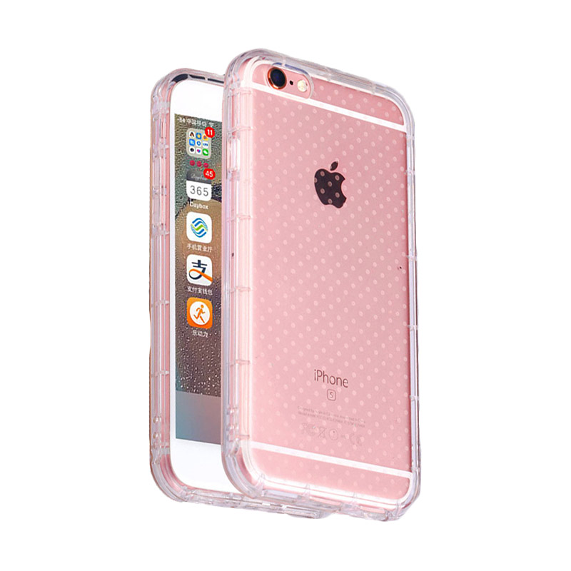 KIM TPU Protector Cover Casing for Apple iPhone 6 Plus - Clear Transparant