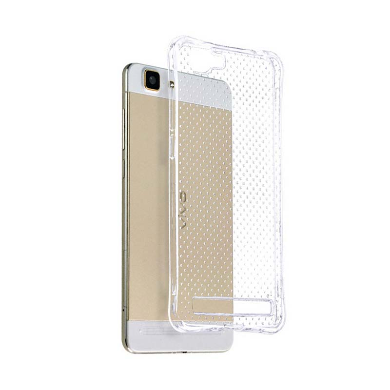 KIM TPU Protector Cover Casing for OPPO X5 Max  - Clear Transparant
