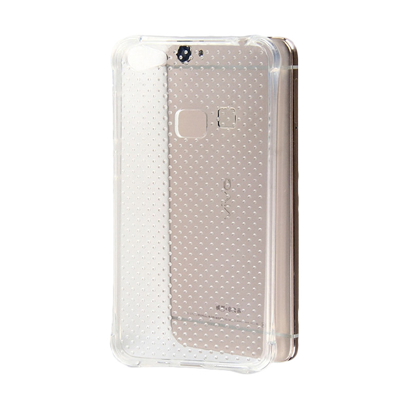 KIM TPU Protector Cover Casing for OPPO X6 Plus - Clear Transparant