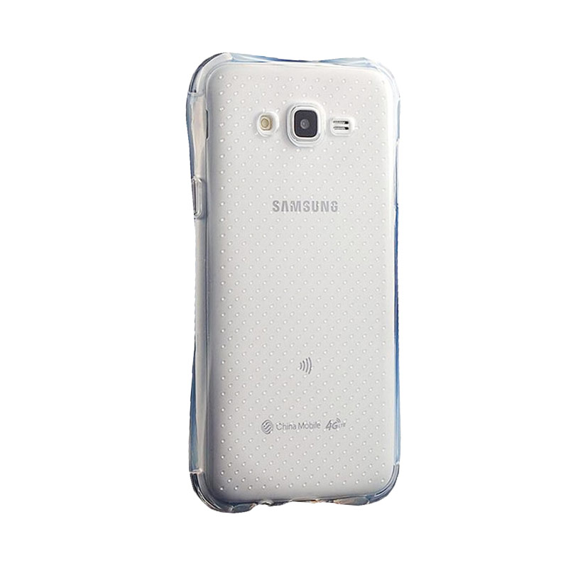 KIM TPU Protector Cover Casing for Samsung Galaxy J5 - Clear Transparant