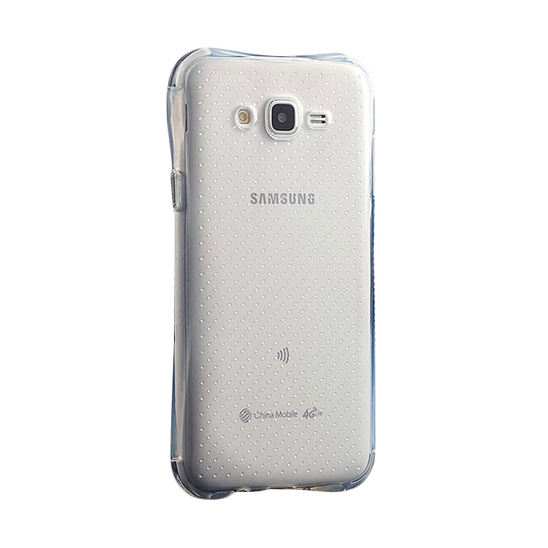 KIM TPU Protector Cover Casing for Samsung Galaxy J7 - Clear Transparant