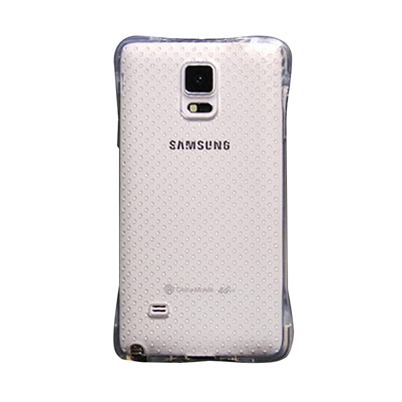 KIM TPU Protector Cover Casing for Samsung Galaxy Note 4 - Clear Transparant