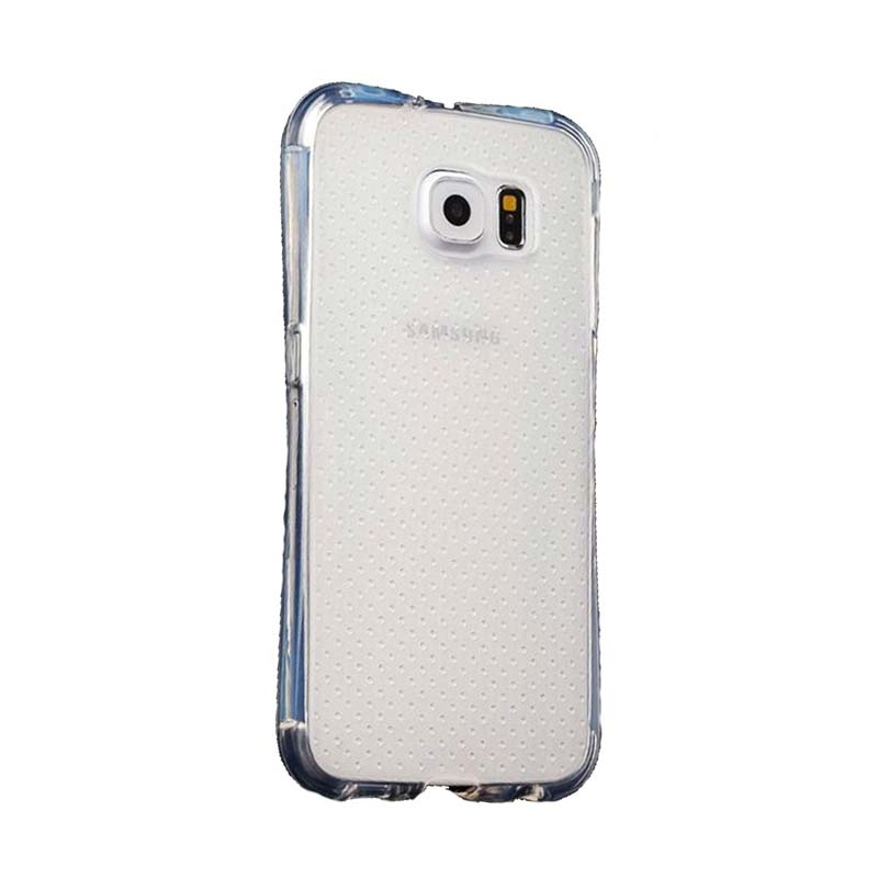 KIM TPU Protector Cover Casing for Samsung Galaxy S6 Edge - Clear Transparant