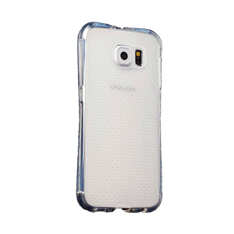 KIM TPU Protector Cover Casing for Samsung Galaxy S7 Edge - Clear Transparant
