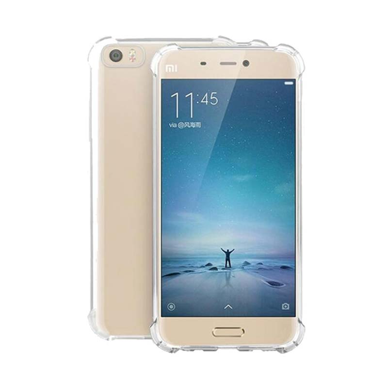 KIM TPU Protector Cover Casing for Xiaomi 5 - Clear Transparant
