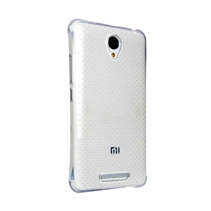 KIM TPU Protector Cover Casing for Xiaomi Redmi Note 2 - Clear Transparant