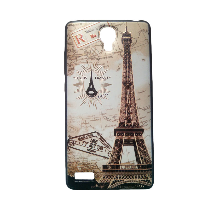 Kimi Custom Fashion Cute Back Cover Softcase Casing for Xiaomi Redmi Note - Paris