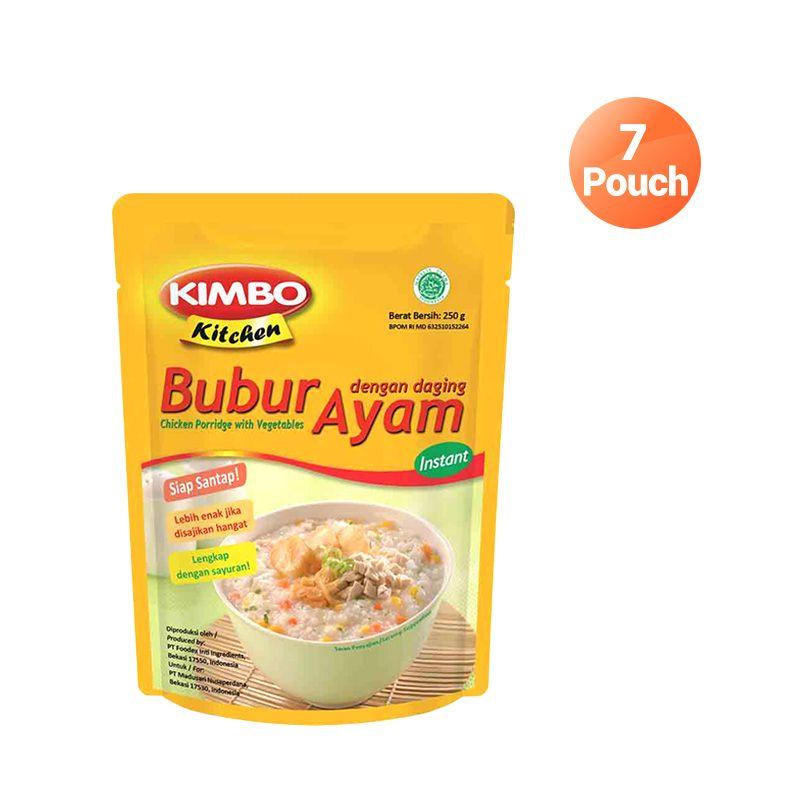 Kimbo Kitchen Bubur Ayam Makanan Instan [7 Pcs]