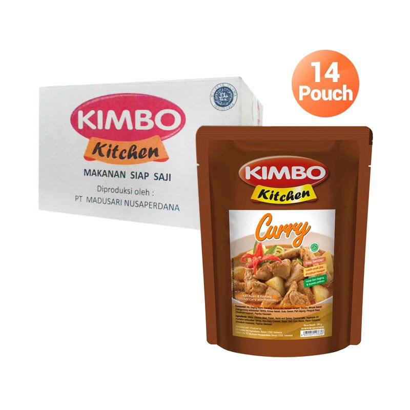 harga Kimbo Kitchen Chicken Curry Makanan Instan [14 Pcs] Blibli.com