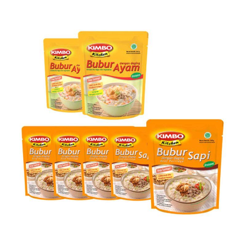 Kimbo Kitchen Makanan Instan [Paket 10]