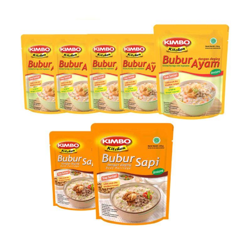 Kimbo Kitchen Makanan Instan [Paket 11]