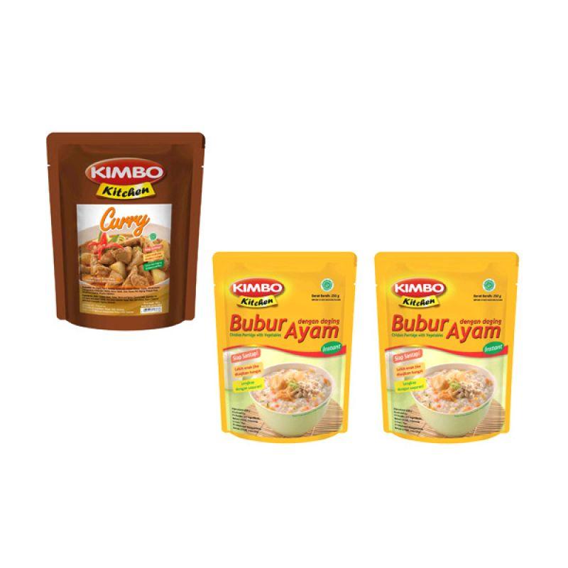 Kimbo Kitchen Makanan Instan [Paket 13]
