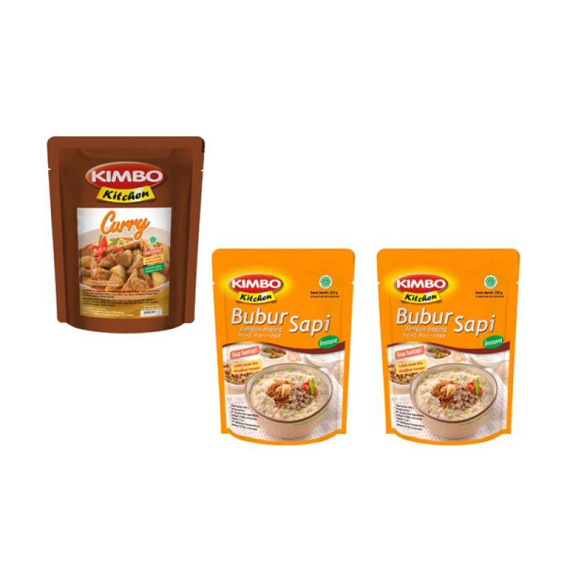Kimbo Kitchen Makanan Instan [Paket 14]