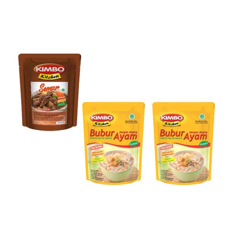Kimbo Kitchen Makanan Instan [Paket 15]