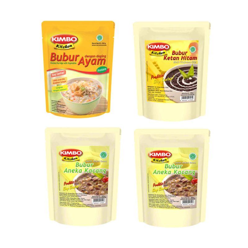 Kimbo Kitchen Makanan Instan [Paket 24]