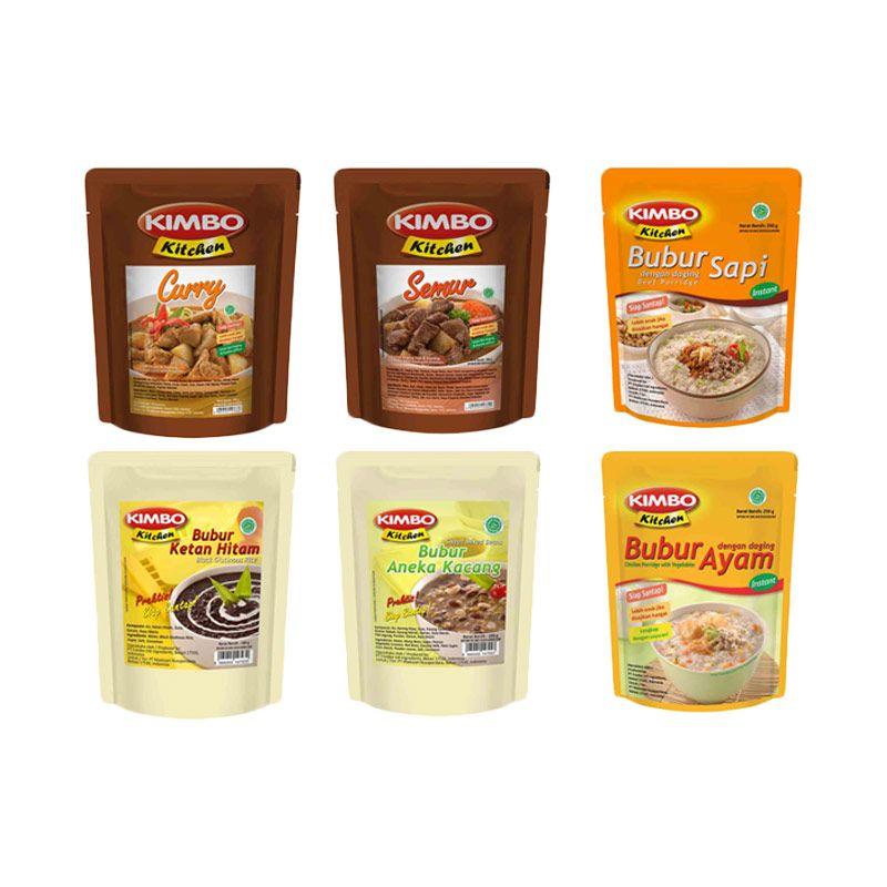 Kimbo Kitchen Makanan Siap Saji [Paket 3]