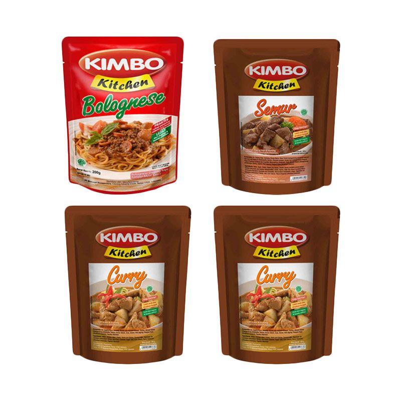 Kimbo Kitchen Makanan Siap Saji [Paket 4]