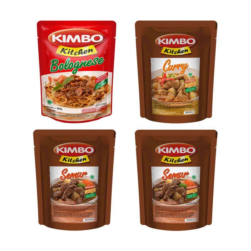 Kimbo Kitchen Makanan Siap Saji [Paket 5]