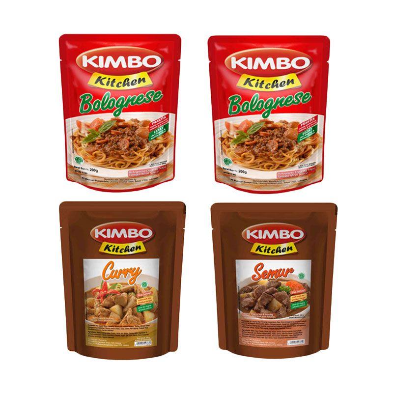 Kimbo Kitchen Makanan Siap Saji [Paket 6]