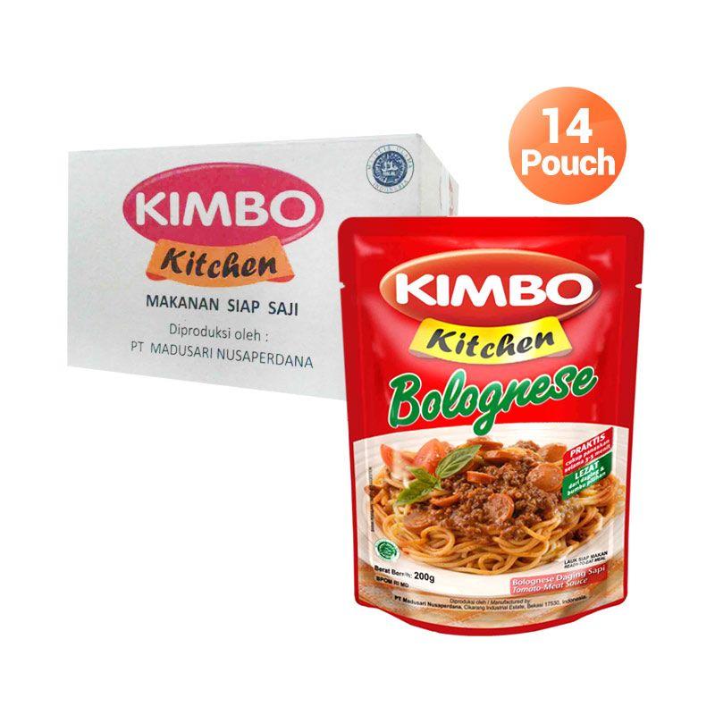 Kimbo Kitchen Saus Bolognese Makanan Instan [14 Pcs]